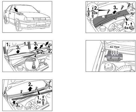 Filtr kabinowy Bosch Seat Cordoba I