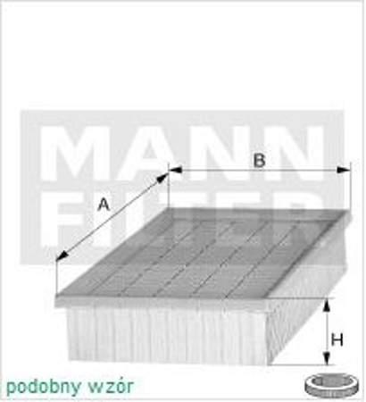 Filtr powietrza MANN BMW 3 E46