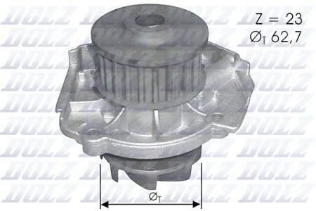 Pompa wody Dolz Fiat  Bravo II